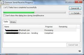 Outlook-progress-bar image