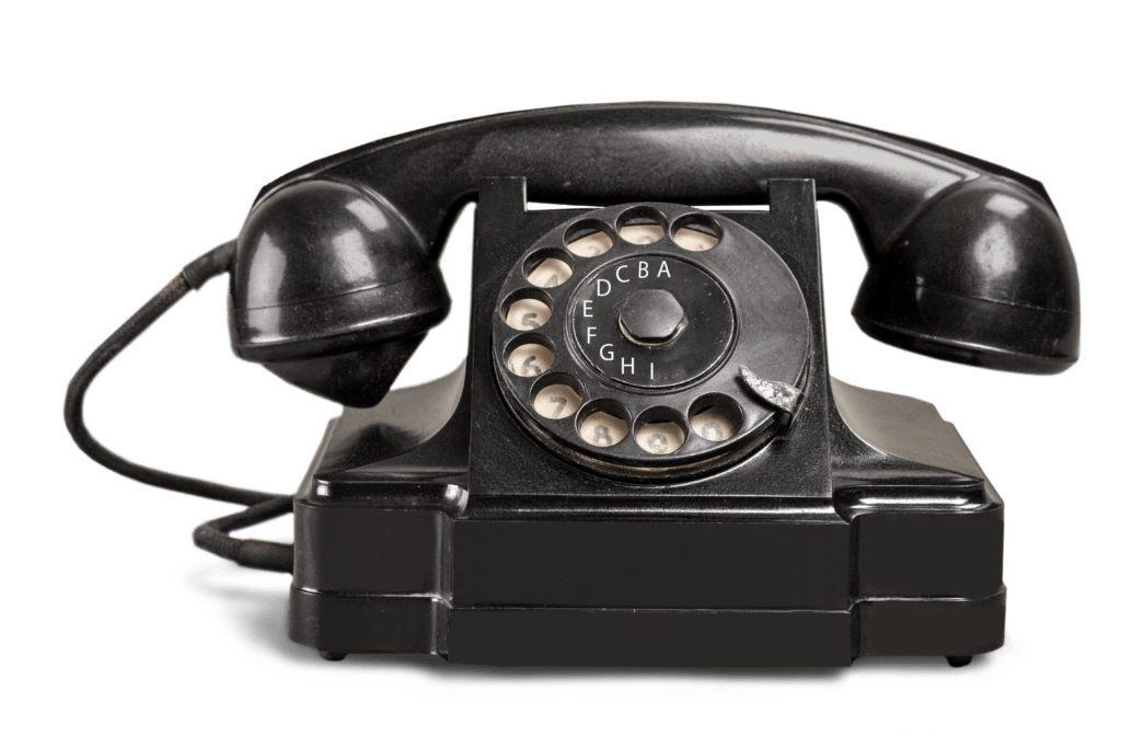 Old Fashion Telephone Image