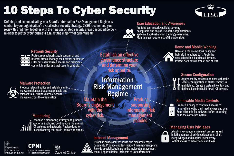 Cyber Security Infographic