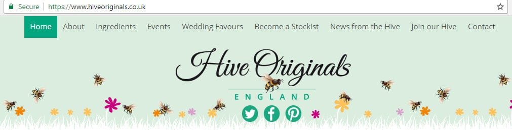 A new home for Hive Originals website