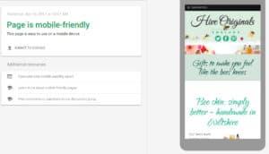 mobile friendly result image