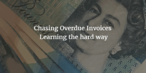 Overdue Invoices - learning the hard way image